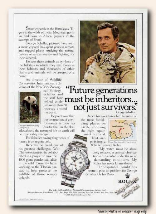 1987 Rolex Ad